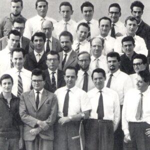 Il mitico gruppo di primi informatici Olivetti a Pisa