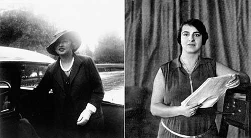 Maria Luisa Boncompagni e Ines Viviani Donarelli