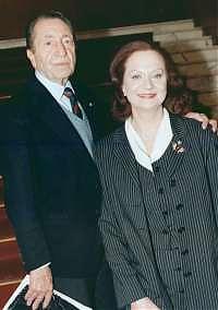 Aroldo Tieri e Giuliana Lojodice (foto Ansa)