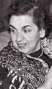 Maria Luisa Boncompagni nel 1958
