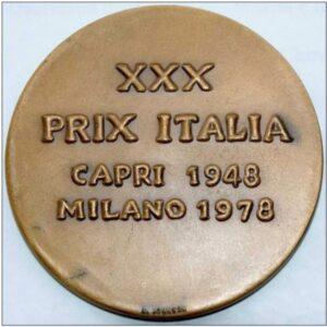 Medaglia storica del Prix Italia