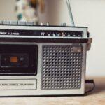 cassette player tape radio vecchia